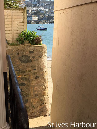 Sneaky view of St Ives Harbour